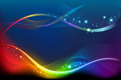 Abstract rainbow background Royalty Free Stock Photos