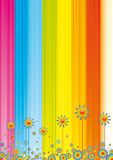 Abstract rainbow background Stock Image