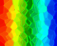 Abstract rainbow background. With red, yellow, green and blue Stock Photo