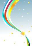 Abstract rainbow Background. Clip-art Stock Photo