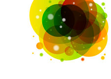 Abstract Rainbow Background. Abstract Background With Rainbow Circles Stock Photography