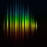 Abstract rainbow background. Abstract background rainbow glowing neon Royalty Free Stock Photography