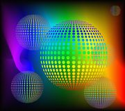 Abstract rainbow background. Royalty Free Stock Photos