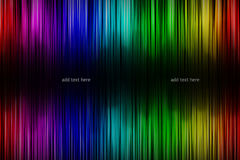 Abstract rainbow background. With text space Royalty Free Stock Images