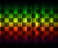 Abstract rainbow background. Abstract rainbow multicolored technology background Royalty Free Illustration