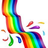 Abstract rainbow background. Gradient mesh Stock Photos
