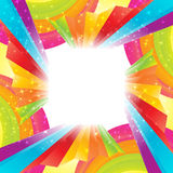 Abstract rainbow background Stock Photos
