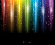 Abstract rainbow background. Eps 10 illustrated abstract rainbow background Stock Photo