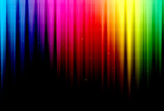 Abstract Rainbow Background. Abstract rainbow wavy background in a lot of different colors Stock Images
