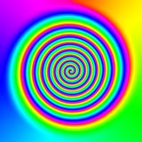 Abstract rainbow background. A colorful abstract rainbow background Royalty Free Stock Images