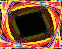 Abstract rainbow background. Clip-art Royalty Free Stock Image