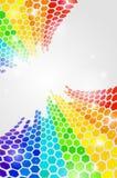 Abstract rainbow background Stock Photos