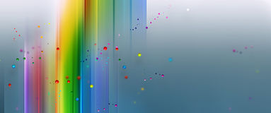 Rainbow background. Abstract rainbow background with drops of paint Royalty Free Stock Photos