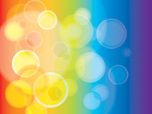 Abstract Rainbow background in EPS-10 Royalty Free Stock Photo