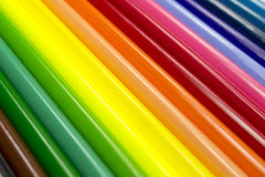 Abstract rainbow background. Photo with lines of different colors Stock Images
