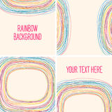 Abstract rainbow background. Template for your design. Seamless Royalty Free Stock Photo