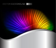 Abstract rainbow background. Vector Stock Photo