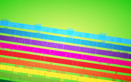 Abstract rainbow background. Vector illustration Stock Photography