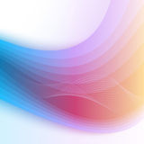 Abstract rainbow background. Vector Illustration. Clip-art Stock Photo
