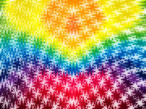 Abstract rainbow background. Abstract rainbow wavy background texture Royalty Free Stock Photo