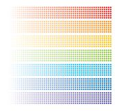 Abstract rainbow baners Royalty Free Stock Image