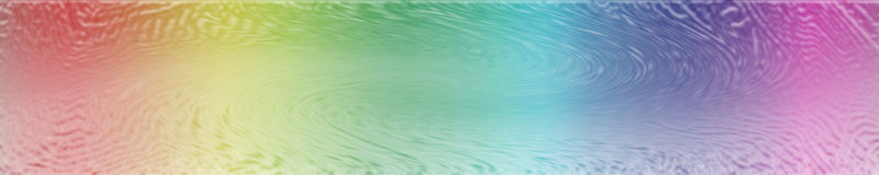 Abstract Rainbow Banner. An abstract banner for websites vector illustration