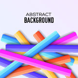 Abstract rainbow banner form background concept. Stock Photos