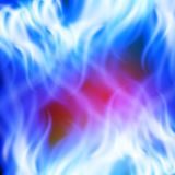 Abstract rainbow blue fire background. EPS10 vector background Royalty Free Stock Image