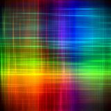 Abstract rainbow blurred lines color paint art background Stock Photos