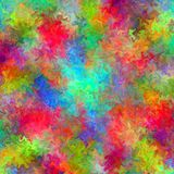 Abstract rainbow blurred lines color splash paint art background Stock Images