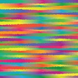 Abstract Colorful Rainbow Spectrum Unequal Roughen Stripe Lines Background Pattern Texture_1 royalty free illustration
