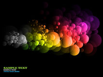 Abstract rainbow circles Royalty Free Stock Image
