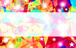 Abstract rainbow color background with space for text. Royalty Free Stock Photo