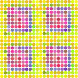 Abstract rainbow color background for your. Business artwork. Vector illustration Stock Images