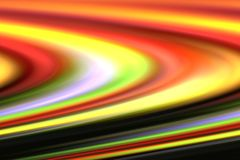 Abstract rainbow color blur light yellow, red, green,black,pink ,white and purple. Abstract of light fruit rainbow color blur light yellow, red, green,black,pink Stock Illustration