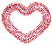 Abstract love heart Stock Photo