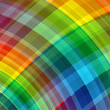 Abstract rainbow color drawing plaid background Royalty Free Stock Photography