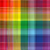 Abstract rainbow color drawing plaid background. Illustration Royalty Free Stock Photography