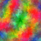 Abstract rainbow color paint fractal art background Royalty Free Stock Photography
