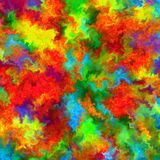 Abstract rainbow color paint splash art watercolor background royalty free illustration