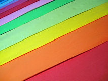 Abstract rainbow color textile,background closeup, Royalty Free Stock Images