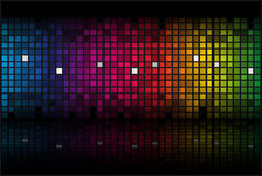 Abstract rainbow - colored  background Stock Images