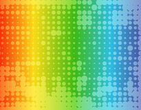 Abstract rainbow colored background