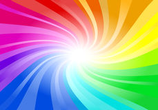 Abstract rainbow colored background. Vector illustration of a abstract rainbow colored background Royalty Free Stock Images
