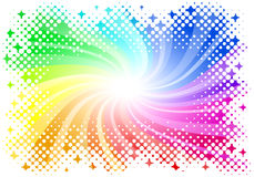 Abstract rainbow colored background Royalty Free Stock Photos