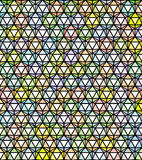 Abstract rainbow colored pattern backdrop Stock Photography