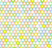 Abstract rainbow colored pattern backdrop Stock Photo