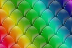 Abstract rainbow colorful background. 3D Royalty Free Stock Photos