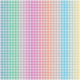 Abstract Rainbow Colorful Circle Dots Mesh Grid Pattern Background. Graphic Art royalty free illustration