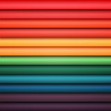 Abstract rainbow colorful lines Stock Image